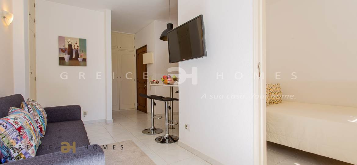 1 BEDROOM APARTMENT FOR HOLIDAYS RENTAL IN CENTRE OF VILAMOURA - Greice Homes