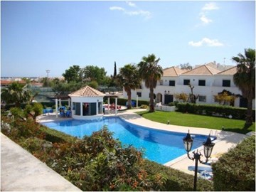 3Bed+ Villa with communal swimming pool in Cabanas with nice terrace garden.