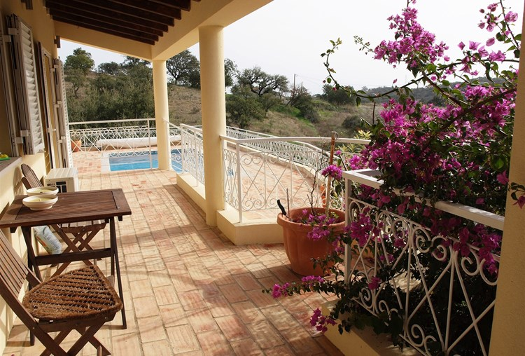 Villa for Sale Traditional Sao Bras de Alportel Terrace View