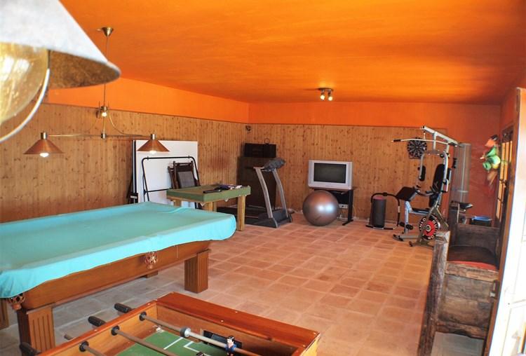 Farmhouse for Sale Restored Pederne Games Room Gym