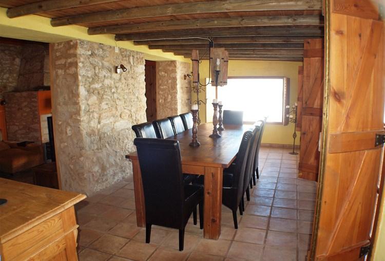Farmhouse for sale Restored Pederne Dining Area