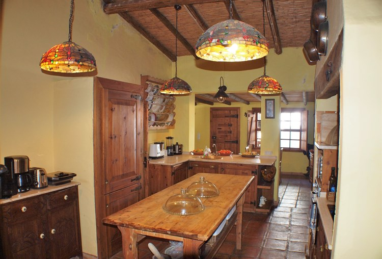 Farmhouse for Sale Restored Pederne Kitchen Guest Suites