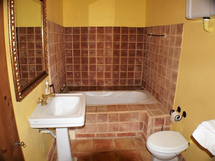 Farmhouse for Sale Restored Pederne Bathroom