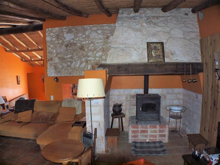 Farmhouse for Sale Restored Pederne Fireplace Lounge Guest Suite