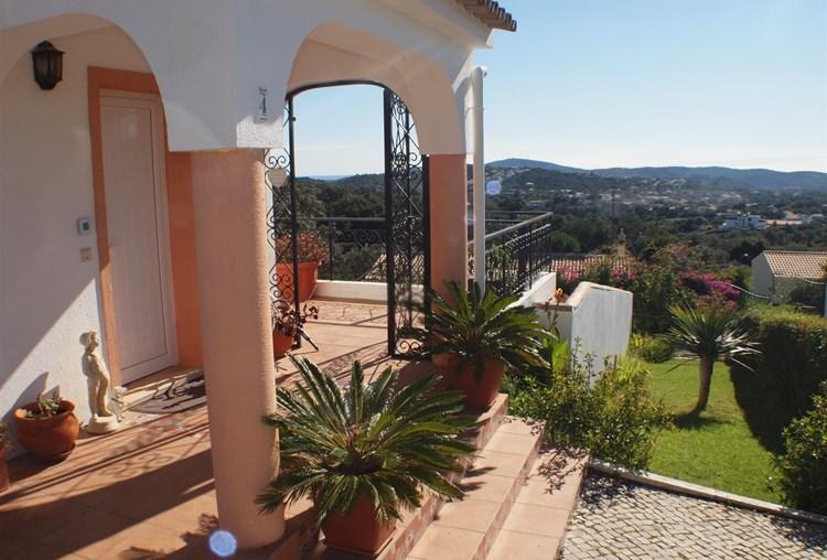 Villa for Sale Sao Bras de Alportel Terrace View