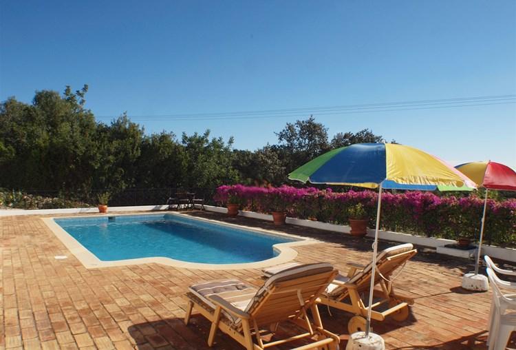 Villa for Sale Sao Bras de Alportel Swimming Pool Terrace View