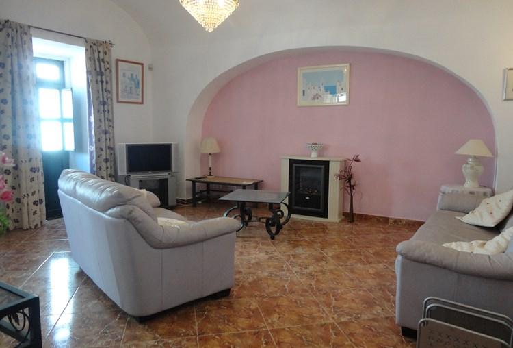 Townhouse for Sale Sao Bras de Alportel Renovated Lounge Fireplace