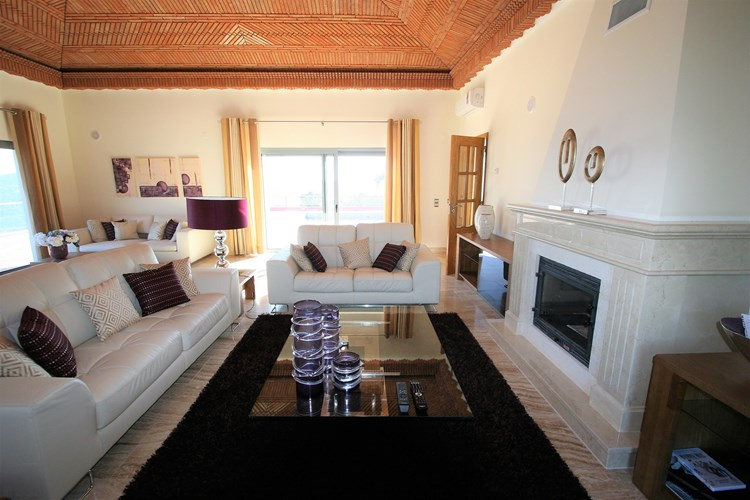 Villa for Sale Sao Bras de Alportel Modern Fireplace