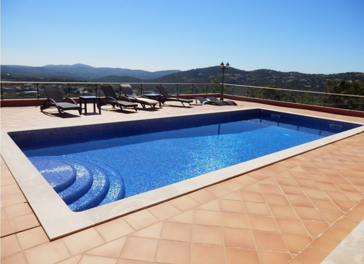 Villa for Sale Sao Bras de Alportel Terrace Swimming Pool View