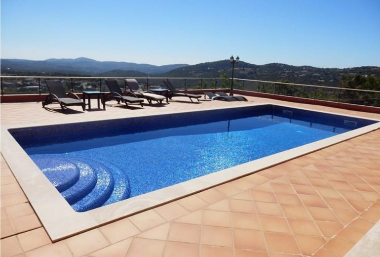 Villa for Sale Sao Bras de Alportel Terrace Swimming Pool View
