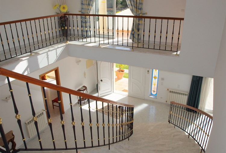 Villa for Sale Almancil Stairs Hallway Landing
