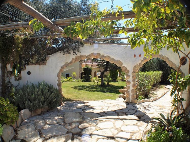 Villa for Sale Santa Barbara de Nexe Garden Terrace