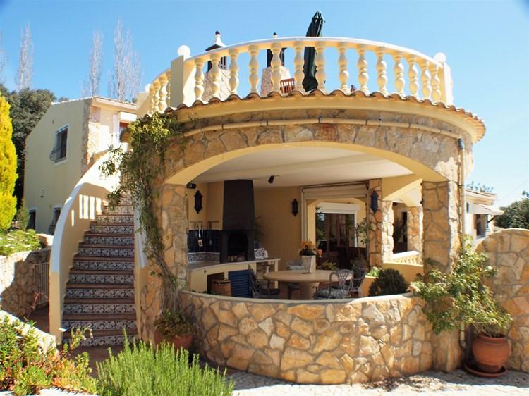 Villa for Sale Santa Barbara de Nexe Roof Terrace BBQ Area