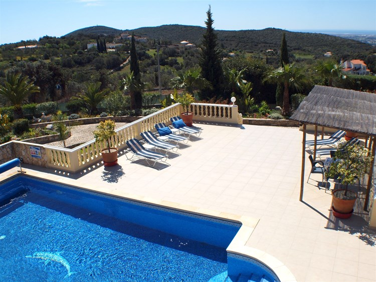 Villa for Sale Santa Barbara de Nexe Terrace Swimming Pool View