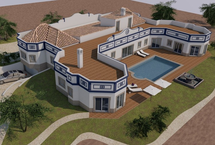 "Plot with Project with Fabulous Sea Views ""Casa Fontanário"""